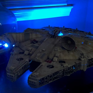 How to Build a Millennium Falcon Wall Light