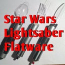 Star Wars Lightsaber Utensils