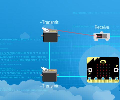 Micro:bit Wire Transmission