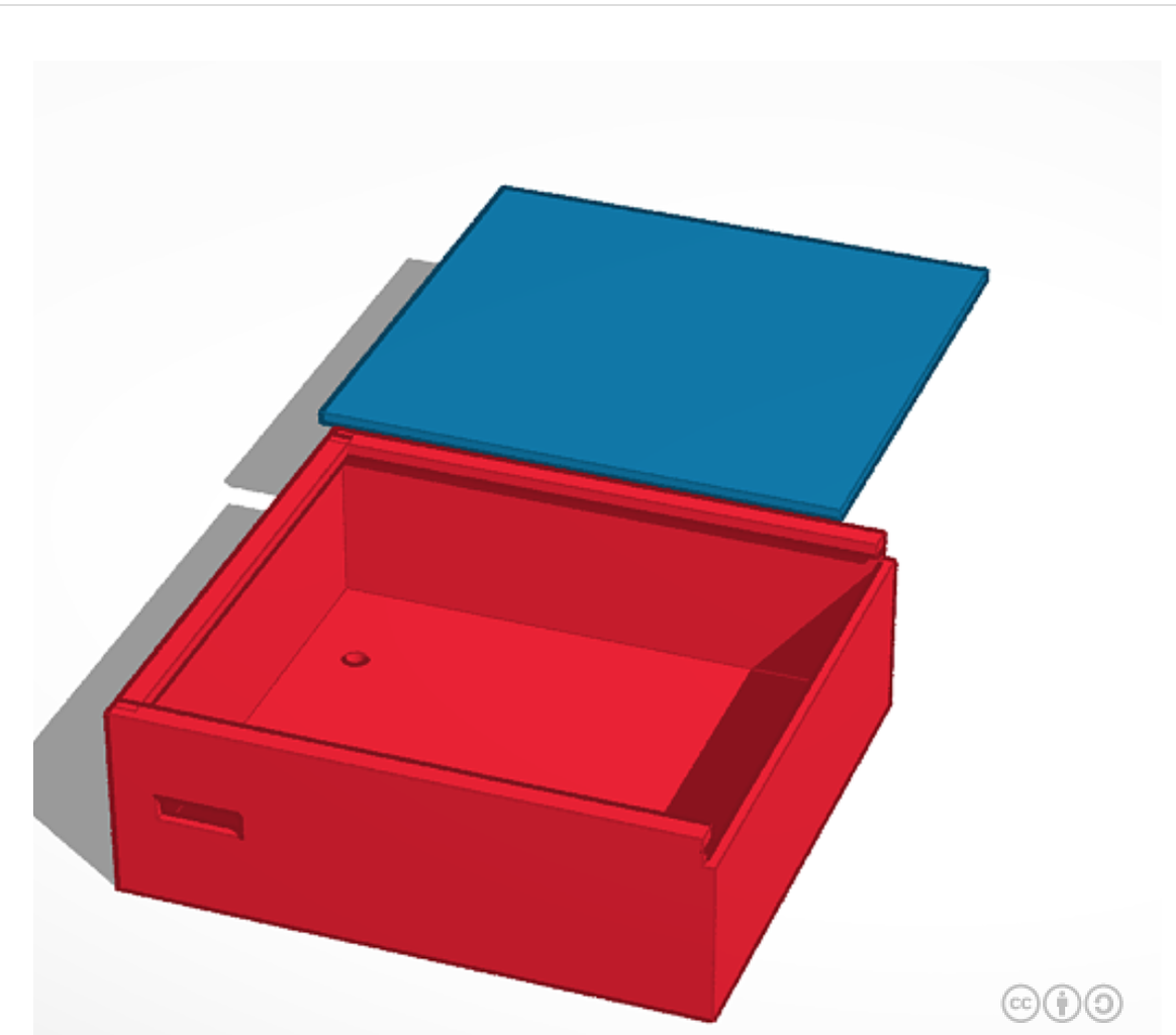 Step 4: Make Box on Tinkered to Be 3-D Printed
