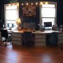 Mega Desk for 3 People