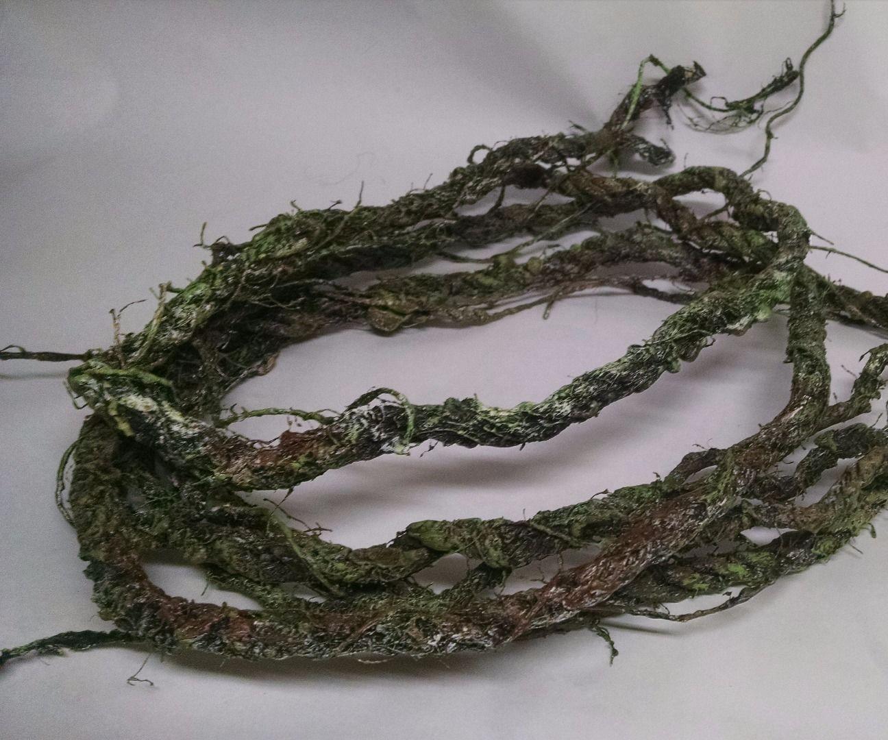 DIY inexpensive bendable waterproof vines