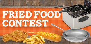 Fried Food Contest