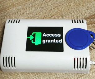 Arduino RFID Reader With TFT Display
