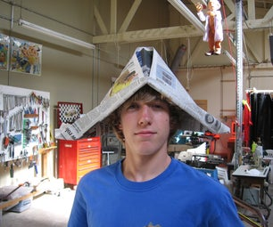How to Build Your Own Newspaper Hat