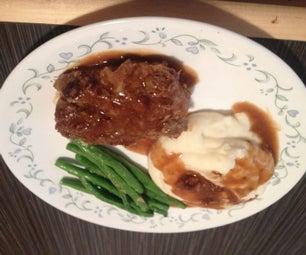 Mike D's Salisbury Steak
