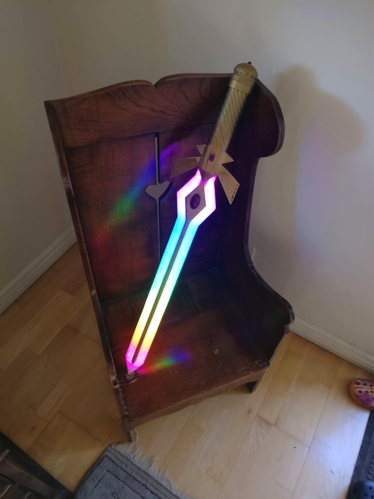 Neopixel RGB LED Sword Prop