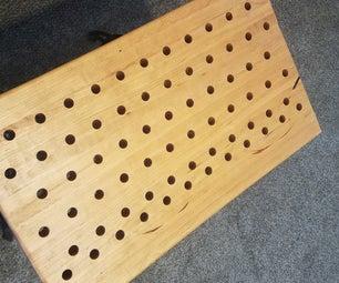 DIY工作台顶部:屠夫块风格