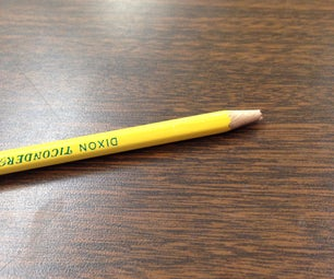 Sharpen a Pencil Without a Sharpener