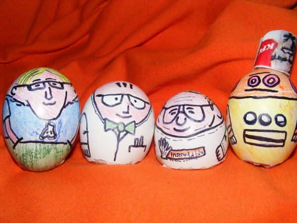 Collegg'tible - Collectible Instructables Eggs