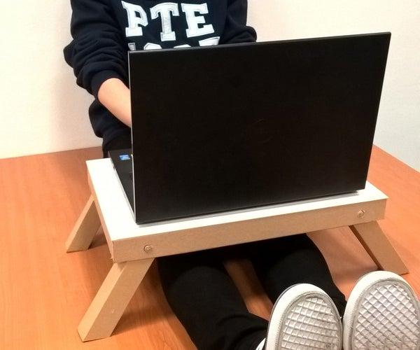 Cardboard Laptop Desk