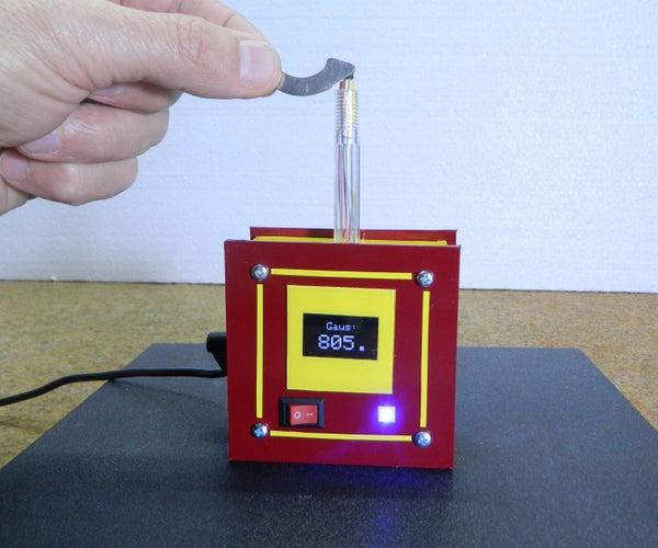 Arduino Magnetic Field Strength Meter
