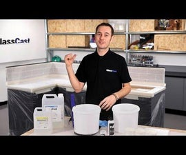 DIY Resin Countertops Using Clear Epoxy Coating Resin and Pigments