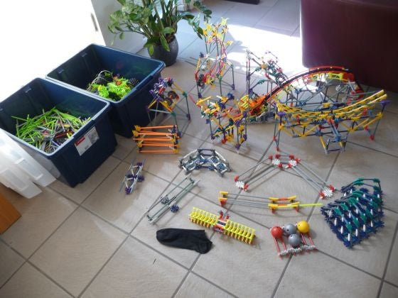 Knex Extra Ball Machine Elements