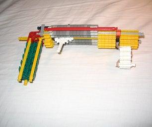 Spring Powered Knex Gun
