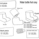 Hot Water Bottle Foot Cosy