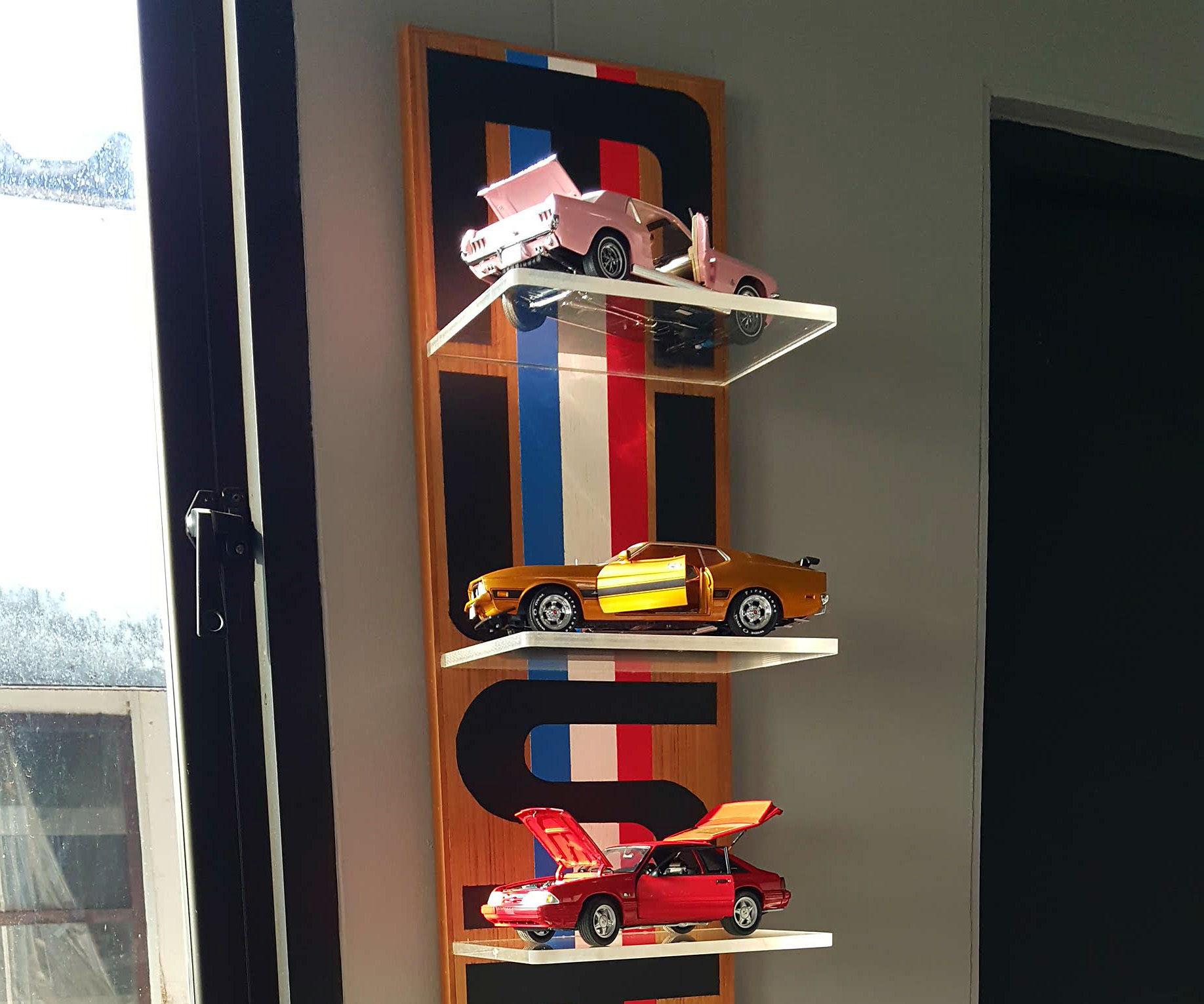MUSTANGs Shelf