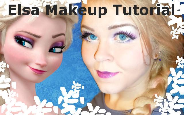 Frozen Disney's Elsa Makeup Tutorial ^__^