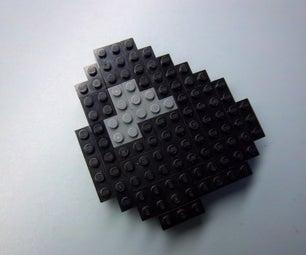 LEGO Minecraft Coal