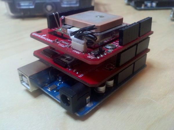 Arduino GPS Datalogger
