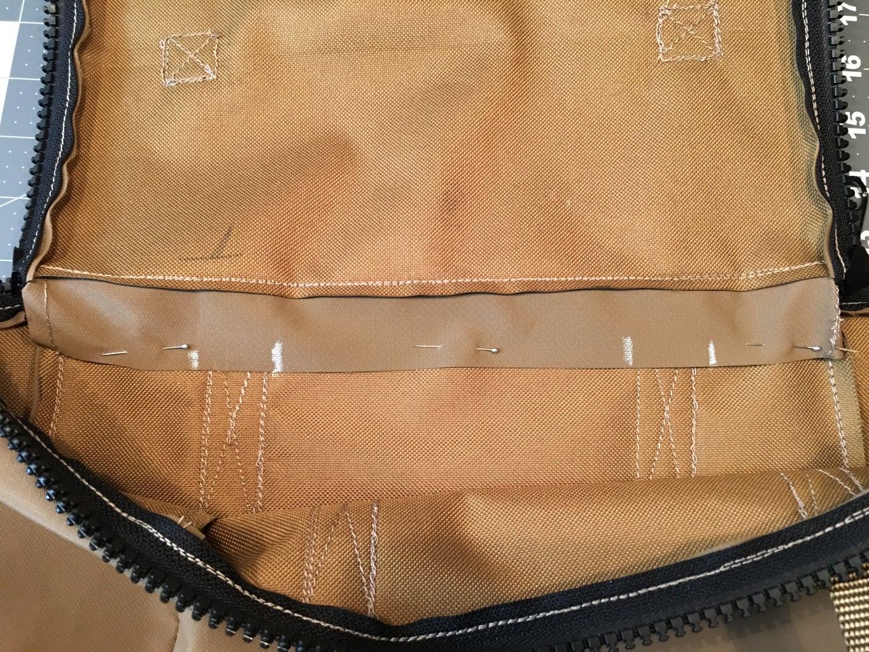 Hiding the Zipper Ends: