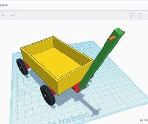 Carreta De Juguete / Toy Wagon