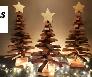 Wooden Christmas Tree - Decor Item
