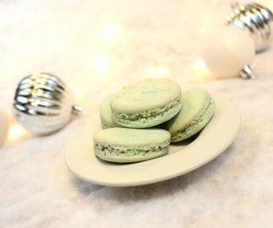 Winter Fresh Macarons | Josh Pan