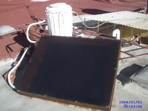 Cheap Solar Heater