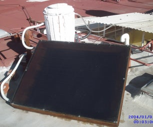 Cheap Solar Heater