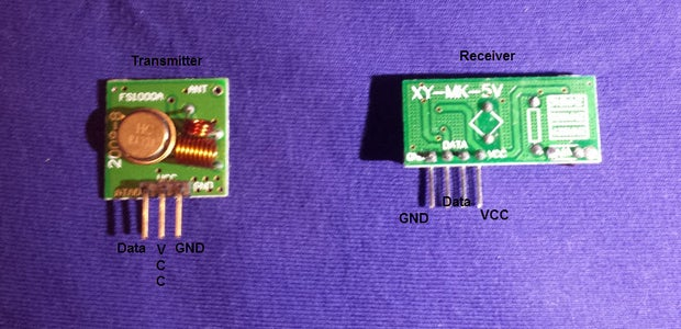 Connect the Uno, LM35 and the Transmitter