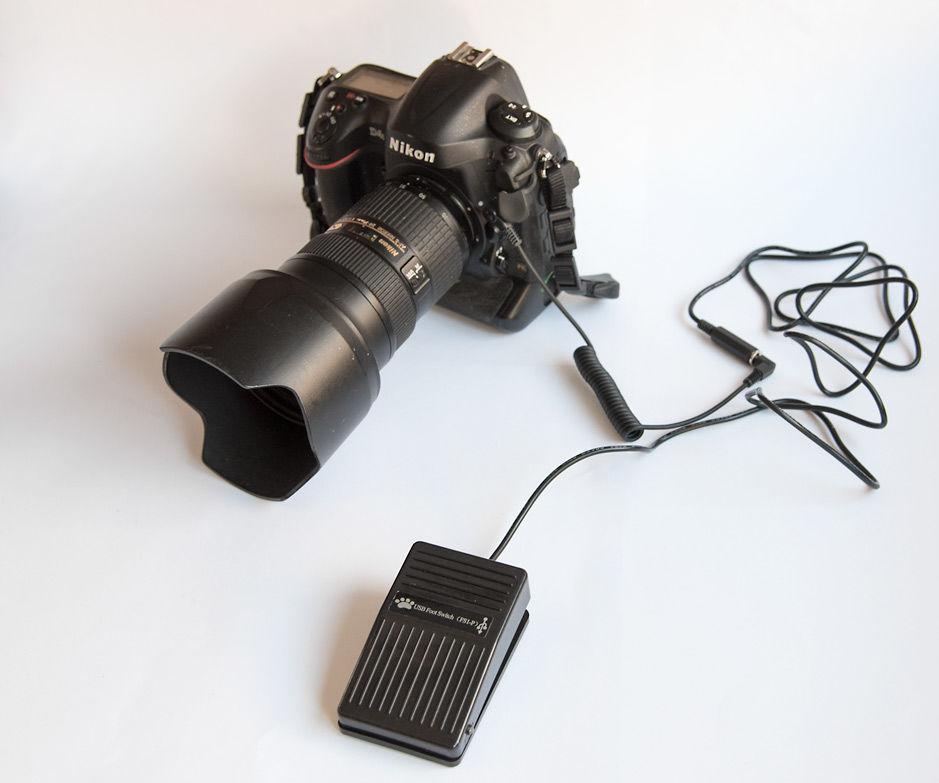 Camera Remote Footpedal