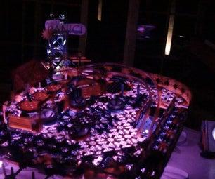 K'nex Custom LED Pinball Machine