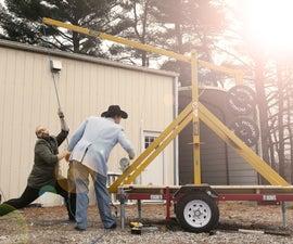Building a Giant Trebuchet