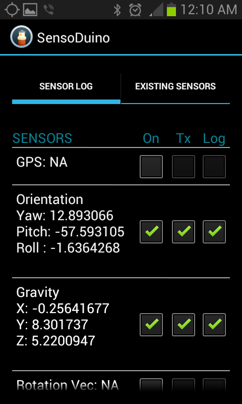SensoDuino: Turn Your Android Phone into a Wireless Sensors Hub for Arduino