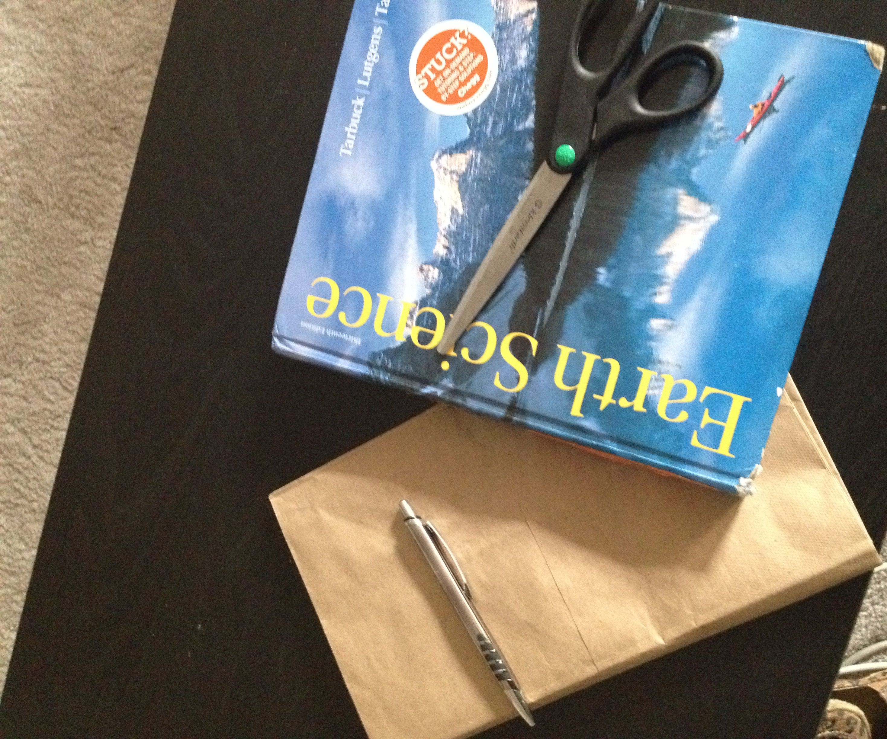 How to make a cheap book cover!