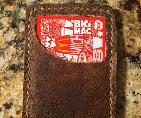Baseball Glove Card Wallet