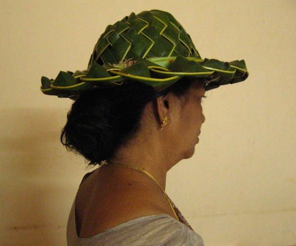How to Make a Coconut Palm Hat