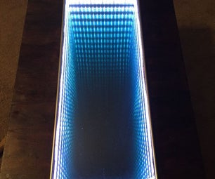 Infinity Mirror Color Changing Touch Table