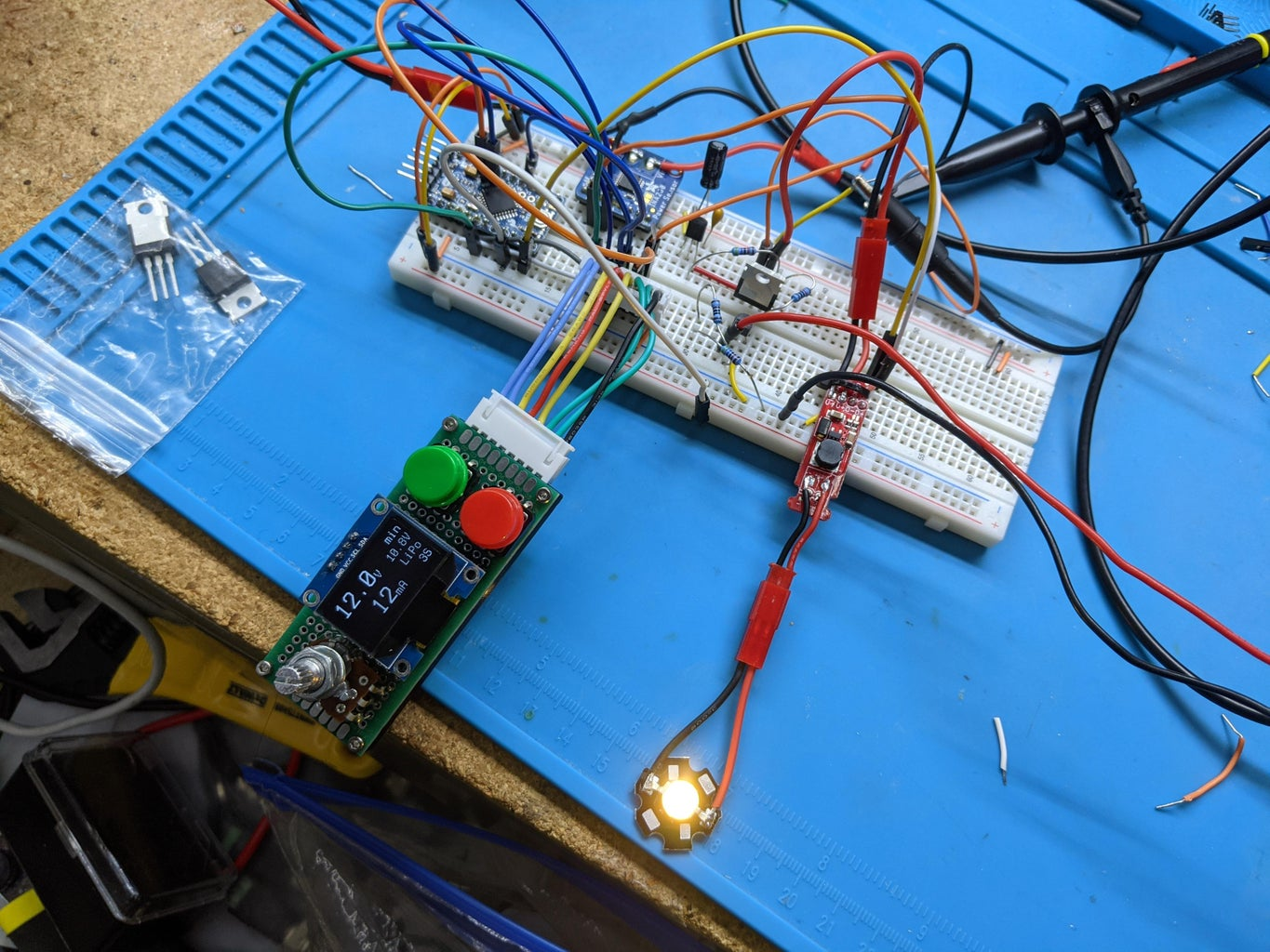 Wire Up and Test the PFET Switch