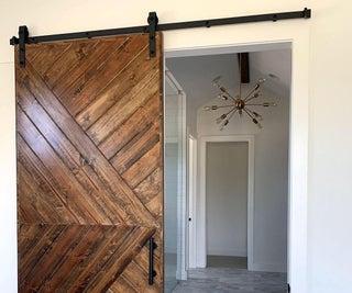 Sliding Barn Doors on a Budget!