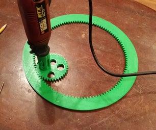 3D Printed Dremel Spirograph
