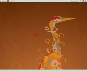 How to Get a Diffrent Desktop Backround on Ubuntu 8.04
