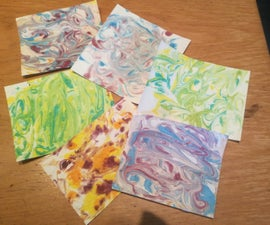 Easy Marble Paper
