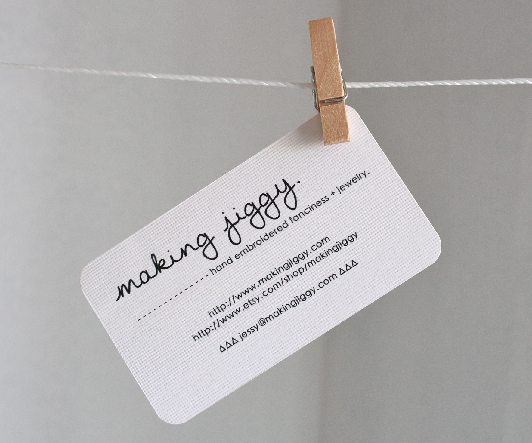 print your own business cards using Pages