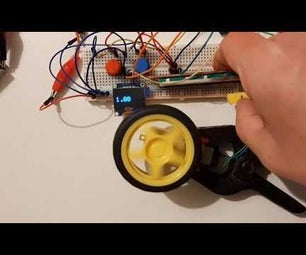 Arduino Control DC Motor Speed and Direction Using a Potentiometer, OLED Display & Buttons