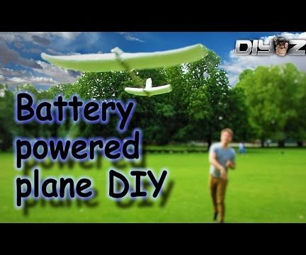 Battery Powered plane DIY