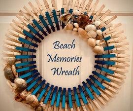 Beach Memories Wreath
