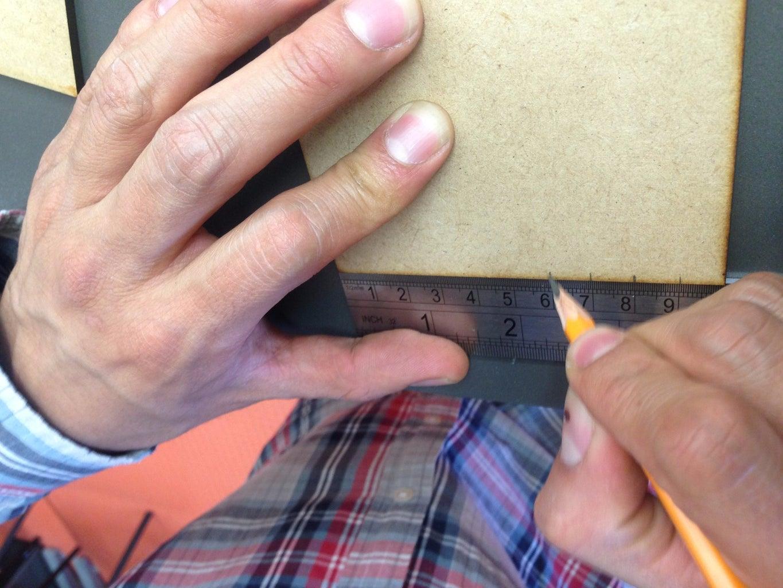 Marcar Las Placas Para Ensambles