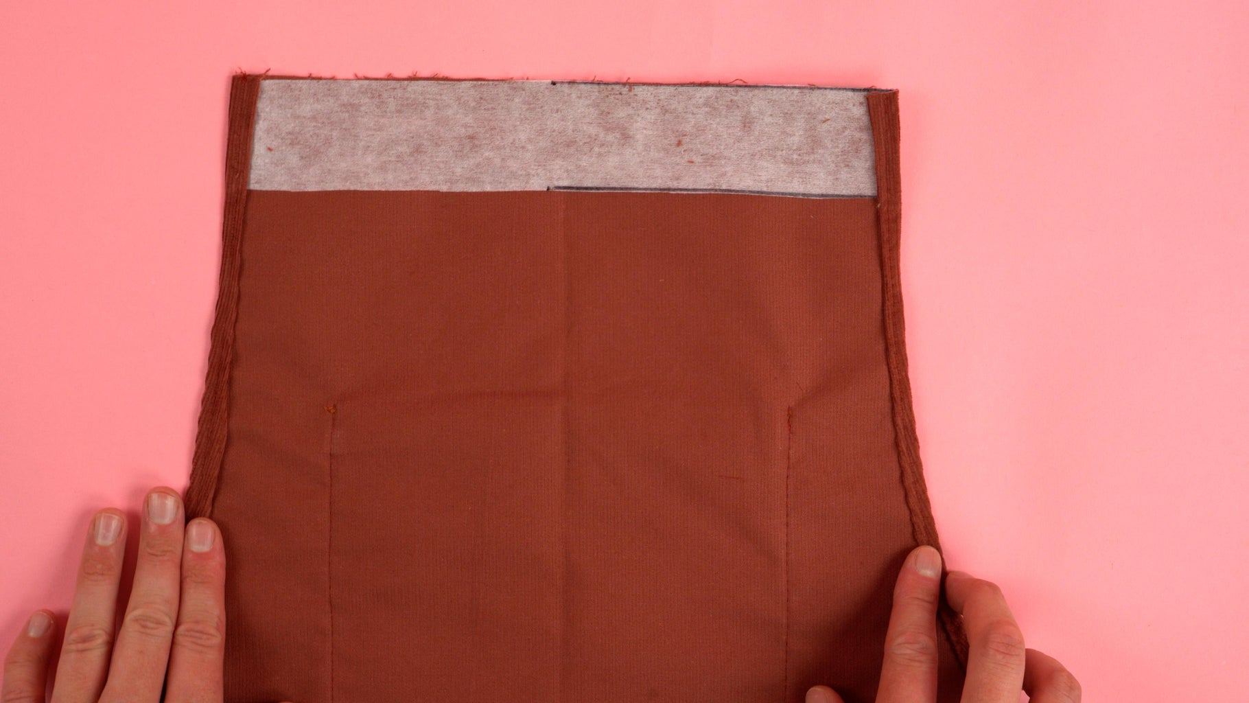 Front Chest Panel Interfacing/Edges